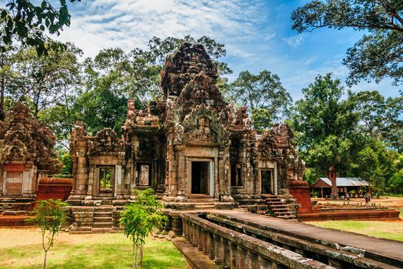 Siemreabo miestas, Kambodža