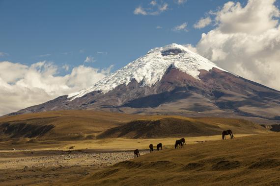 Kotopaksio ugnikalnis, Ekvadoras