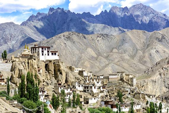 Ladako teritorija, Tibetas