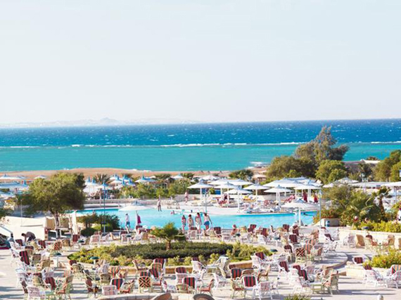 Coral Beach Resort Hurghada 4*, Egipte