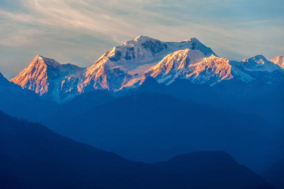 Kančendžangas, Nepalas