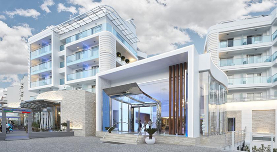 Blue Bay Platinum 5* viešbutis Marmaryje, Turkijoje