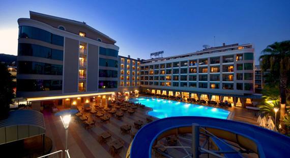 Pasas Beach 4*, Marmaryje, Turkijoje