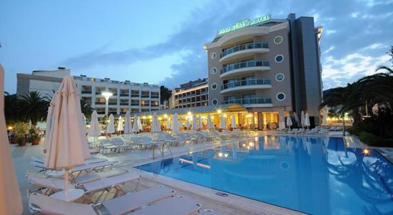 Pasa Beach 4*, Marmaryje, Turkijoje