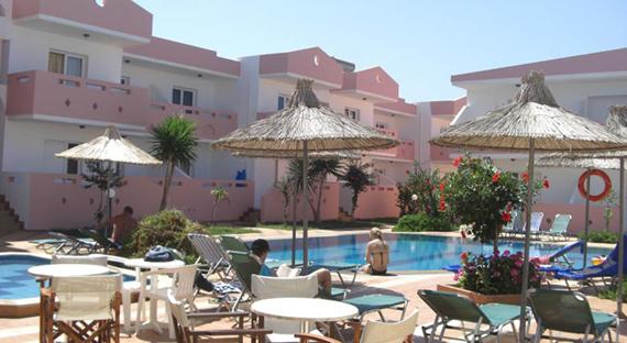 Anthoula Village 4* viešbutis Kretoje, Graikijoje