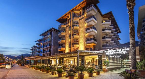 KLEOPATRAS ADA BEACH 4* viešbutis Turkijoje