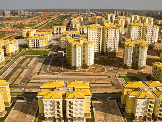 Kilambos miestas Angoloje