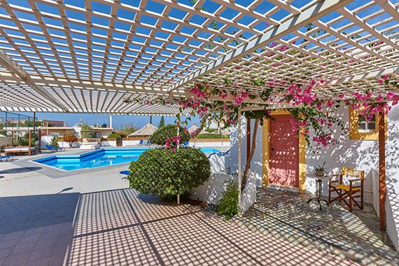 Klio Apartamentai 4*, Kreta, Graikija