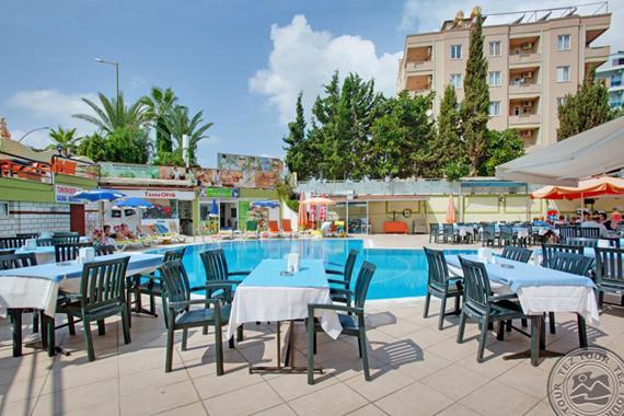Krizantem Hotel 4*, Turkijoje
