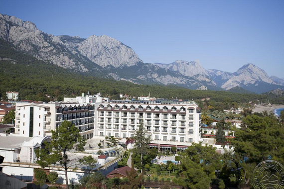 Sentido Palmet Beach Resort 5*, Turkijoje, Kemere