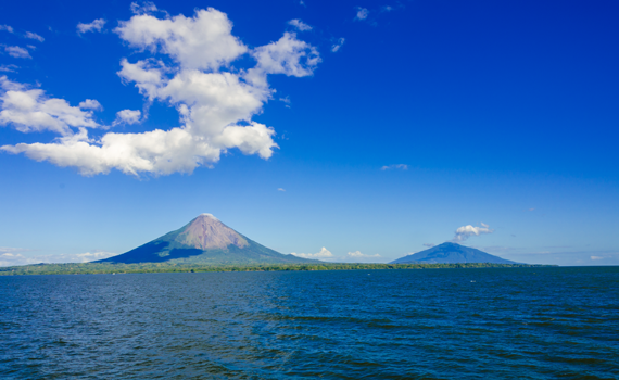 Nikaragvos ežeras ir Sero Negro ugnikalnis