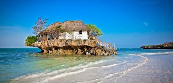Pasakiško grožio Zanzibaro pakrantės