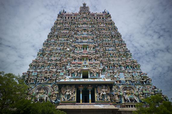 Srirangam šventykla Indijoje