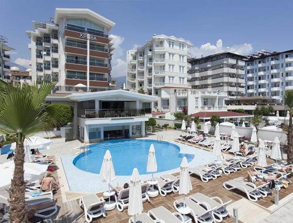 Turkija_Alanija_viesbutis_Xperia_Saray_Beach_eksterjeras