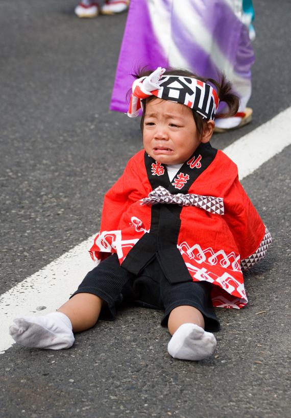 Verkiančių kūdikių šventė Japonijoje