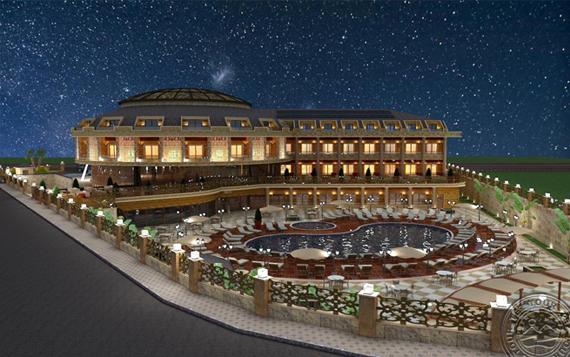 Kemer Botanik Resort 4*, Turkijoje